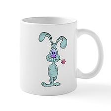 Funny Blue Bunny Mug