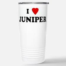 I Love JUNIPER Stainless Steel Travel Mug
