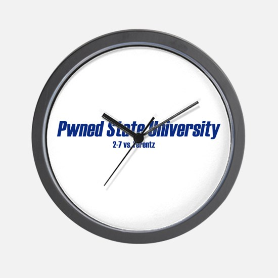 Pwned State Wall Clock