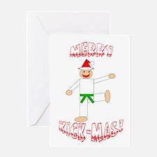 Green Belt Christmas Card