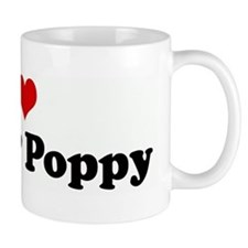 I Love Nana & Poppy Small Mug