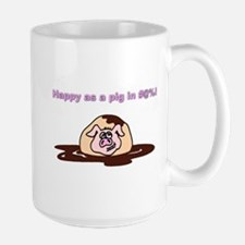 Happy As A Pig In... Mug