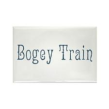 Bogey Train Rectangle Magnet (10 pack)