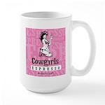 Cowgirls Large Mug