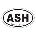 ASH Euro Oval Sticker (Ashleigh)