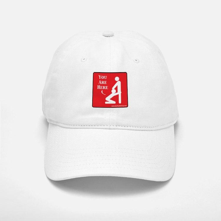 Here Baseball Baseball Cap