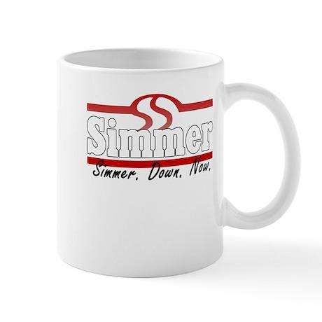 Simmer Down Now Mug