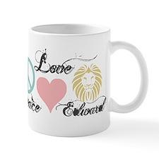 Peace love Edward Cullen Mug