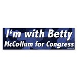Betty McCollum for Congress bumper sticker