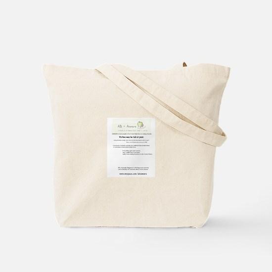 Eating Disorder Awareness: Tote Bag