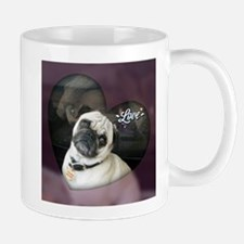Pug Love 4-Ever Mugs