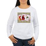 Family Cards Women's Long Sleeve T-Shirt