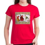Family Cards Women's Dark T-Shirt