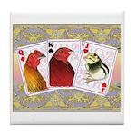 Family Cards Tile Coaster