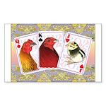Family Cards Rectangle Sticker 50 pk)