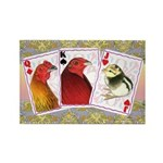 Family Cards Rectangle Magnet (100 pack)