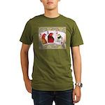 Family Cards Organic Men's T-Shirt (dark)