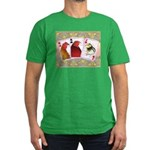 Family Cards Men's Fitted T-Shirt (dark)
