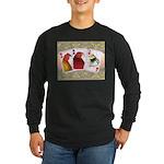 Family Cards Long Sleeve Dark T-Shirt
