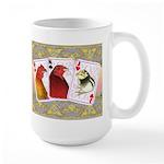 Family Cards Large Mug
