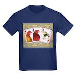 Family Cards Kids Dark T-Shirt