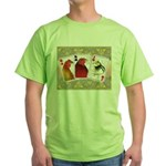 Family Cards Green T-Shirt