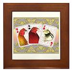Family Cards Framed Tile