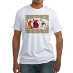Family Cards Fitted T-Shirt