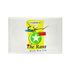 The Rant Rectangle Magnet