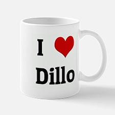 I Love Dillo Mug