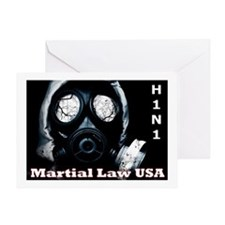 H1N1 Greeting Card