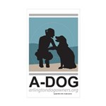 A-DOG Stickers (50-pack)