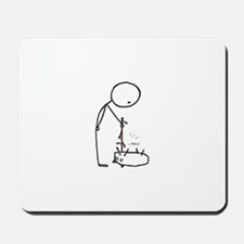 Poke the Dead Thing Mousepad