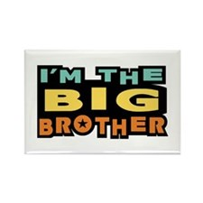 I'm The Big Brother Rectangle Magnet