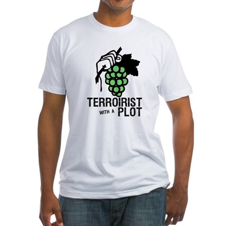 Wine Grower Fitted T-Shirt