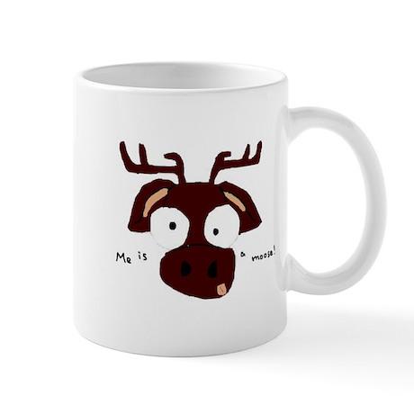 Me is a Moose Mug