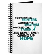 Support Admire Honor Cervical Cancer Journal