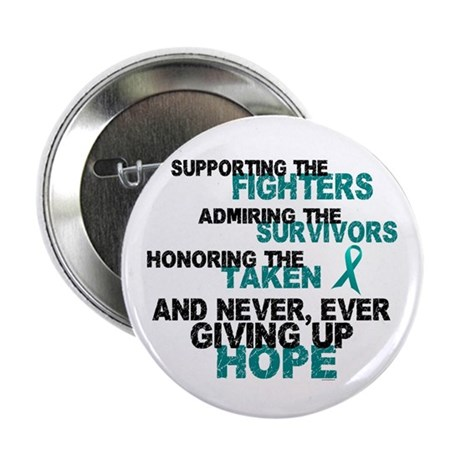 """Support Admire Honor Cervical Cancer 2.25"""" Button"""