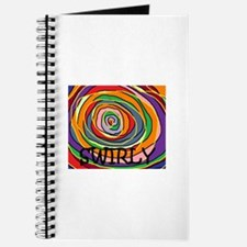 swirly Journal