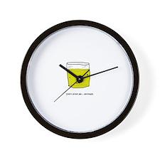 GlassOFpee Wall Clock