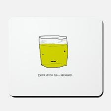 GlassOFpee Mousepad