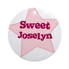 Sweet Joselyn Ornament (Round)