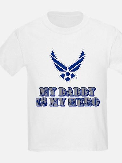 USAF My Daddy is my Hero T-Shirt