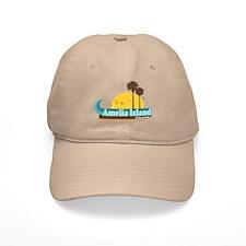 Amelia Island FL Baseball Cap