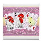 Delaware Family Cards Tile Coaster