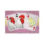 Delaware Family Cards Rectangle Magnet (100 pack)