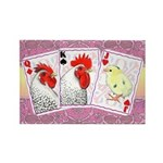 Delaware Family Cards Rectangle Magnet