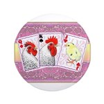 """Delaware Family Cards 3.5"""" Button"""