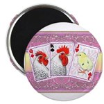 """Delaware Family Cards 2.25"""" Magnet (10 pack)"""