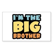 I'm The Big Brother Rectangle Decal